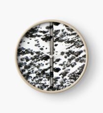 Snow from above Clock