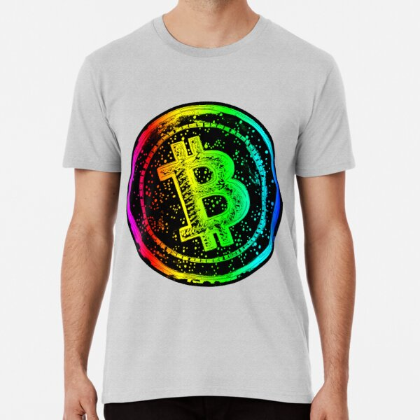 Bitcoin Cash -rainbow Premium T-Shirt