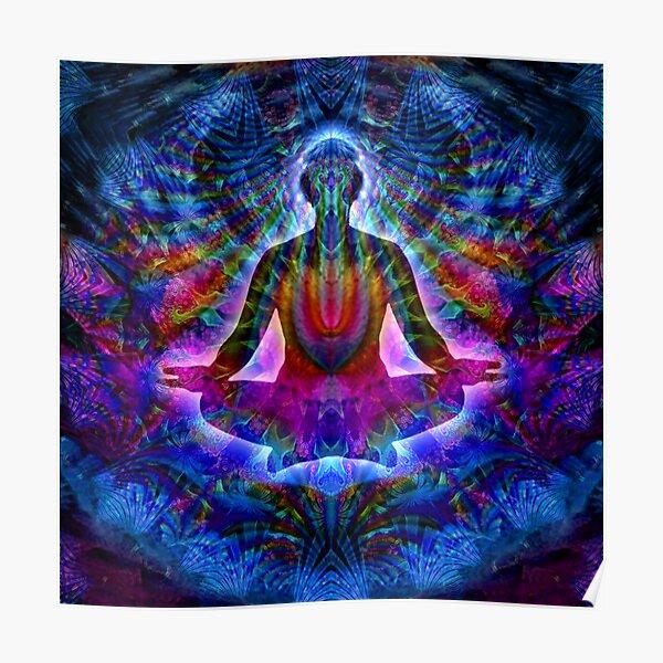 Mayan meditation Poster