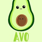 Avocado - from the BUMP - Birthday - Anniversary - Funny - Puns by JustTheBeginning-x (Tori)