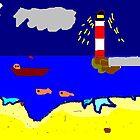 THE beach by whackycat