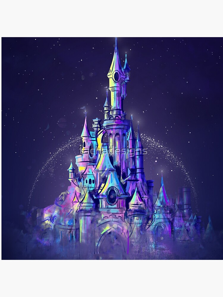 Magic Princess Fairytale Castle Kingdom by tachadesigns