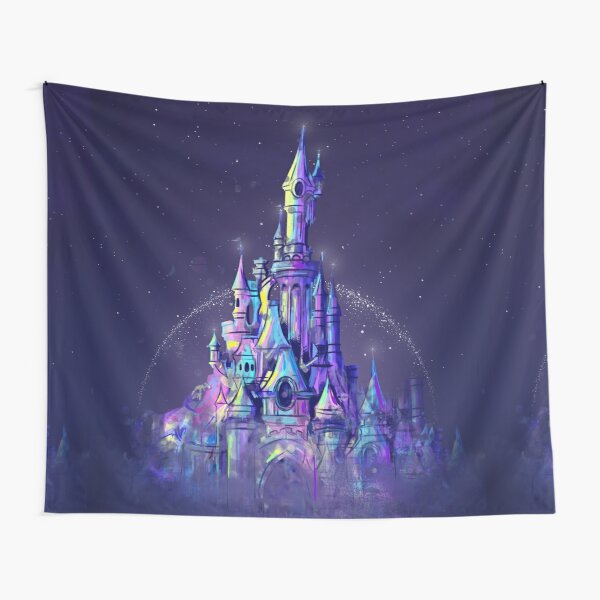 Magic Princess Fairytale Castle Kingdom Tapestry