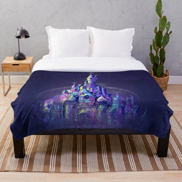 Girls Glitter Fairy Wallpaper Metallic Purple Bedroom Kids Girly Stars Fairytale