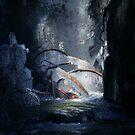 Eisparadies ... von Angelika  Vogel