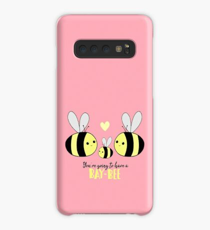 Baby Shower - New Baby - BAY-Bees - You're going to have a baby! Case/Skin for Samsung Galaxy