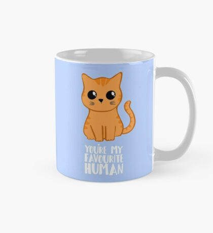 You're my favourite human - Ginger Cat - Gifts from the cat Mug