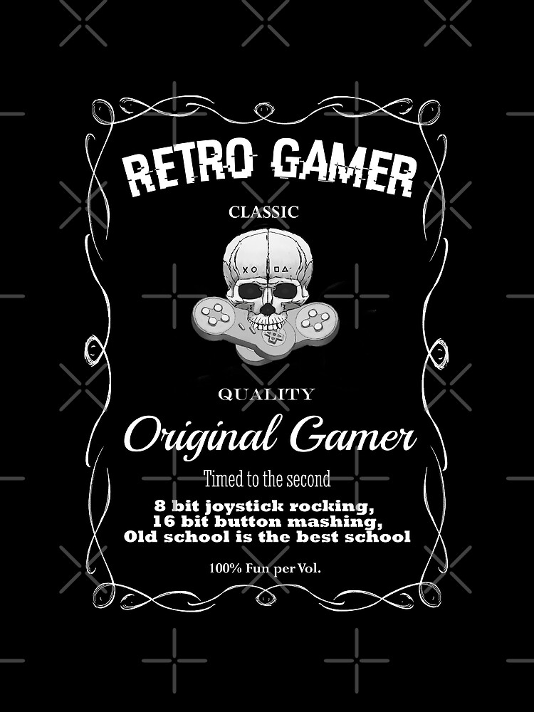 Retro Gamer Design 2 by GhostImageArt