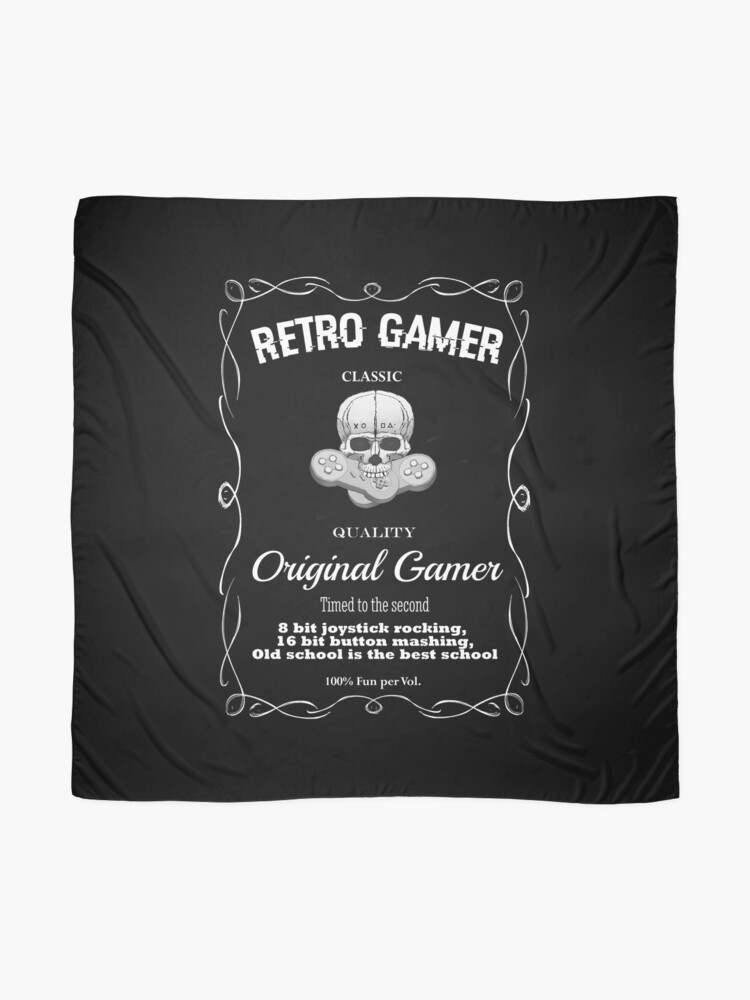 Alternate view of Retro Gamer Design 2 Scarf