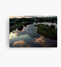 Ballydehob reflections Canvas Print