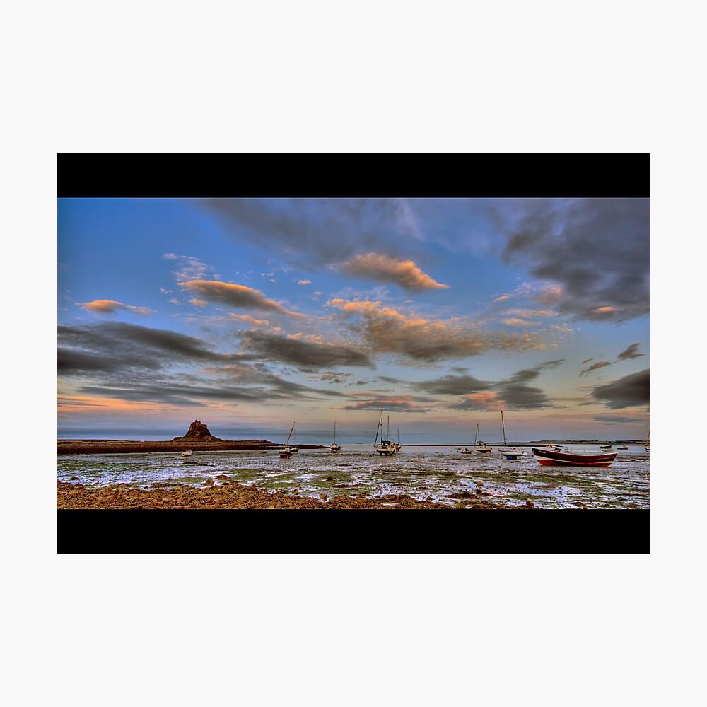Sunset boats Photographic Print