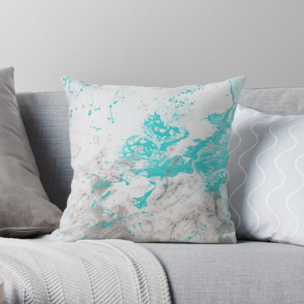 The Creation of New Life Throw Pillow
