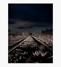 Night Rail Photographic Print