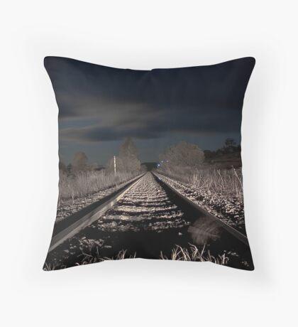 Night Rail Throw Pillow