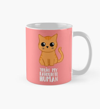 You're my favourite human - Ginger Cat - Shirt from the cat Mug