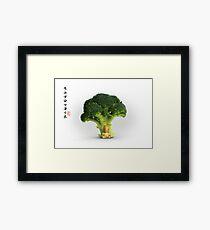 Under the Broccoli Tree Framed Print