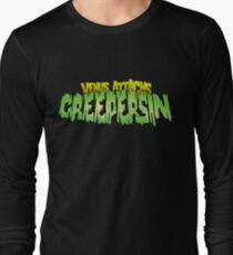 Venus Attacks Creepersin Logo Long Sleeve T-Shirt