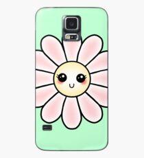 Kawaii Daisy   Pink Blossom Flower Case/Skin for Samsung Galaxy