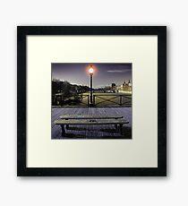 Pont des arts Framed Print
