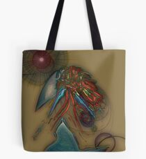 Abstract Eggshell 0 Tote Bag