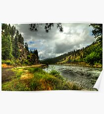 Salmon River (Idaho) Poster