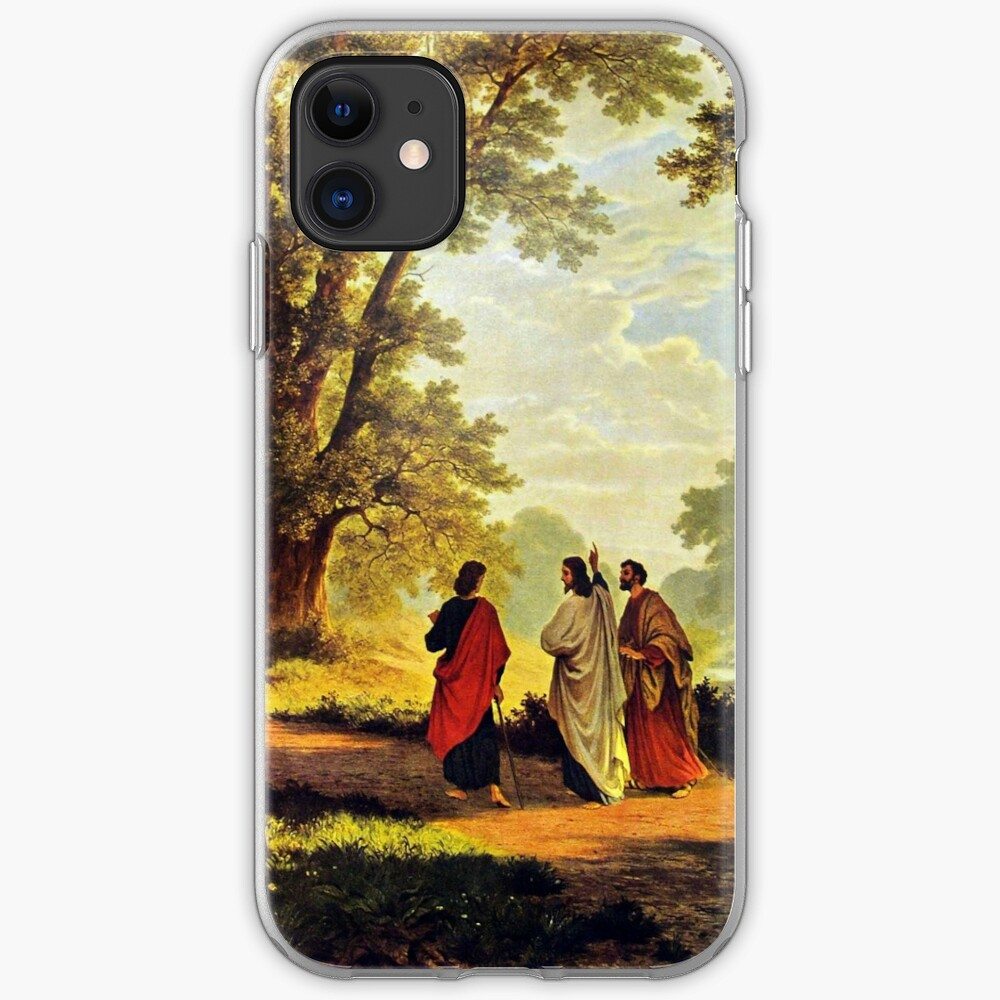 Road To Emmaus iPhone Soft Case