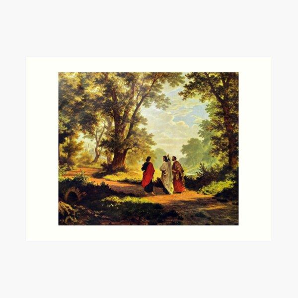 Road To Emmaus Art Print