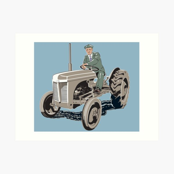 Ferguson 'Fergie' TE20 / TO20. Harry Ferguson's finest machine Art Print
