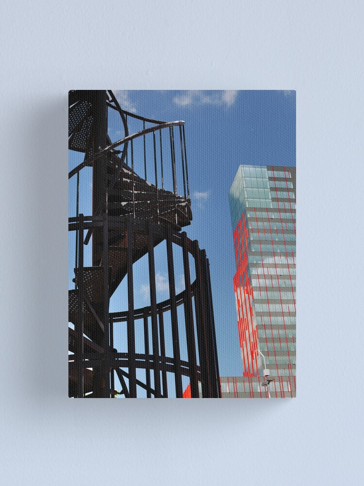 Alternate view of Fire escape fun (1) Canvas Print