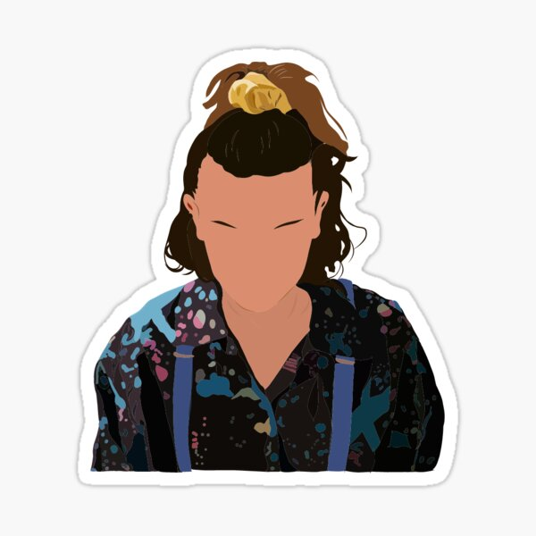 Eleven, Millie Bobby Brown Stranger Things 3 Sticker