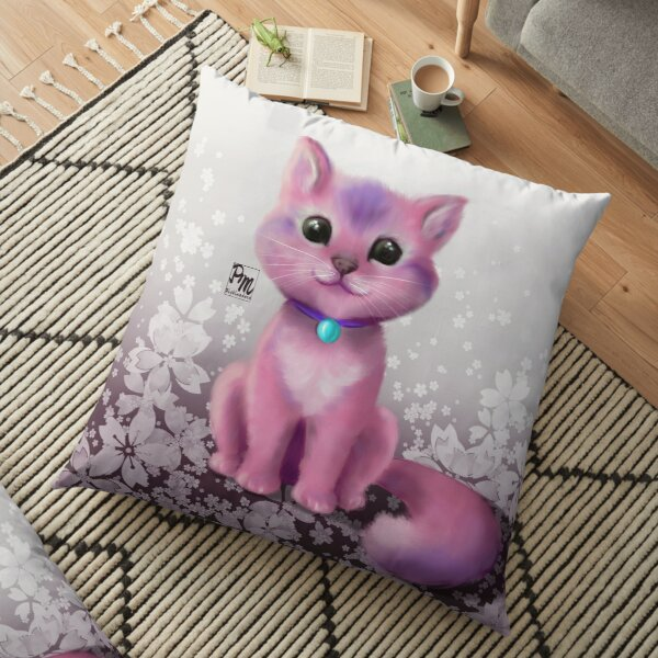 Cutie Cat Floor Pillow