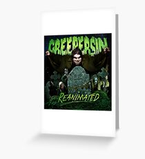 Reanimated Cover Greeting Card