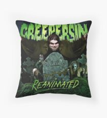 Reanimated Cover Throw Pillow