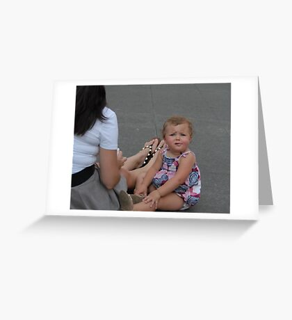 Child with an Issue Greeting Card