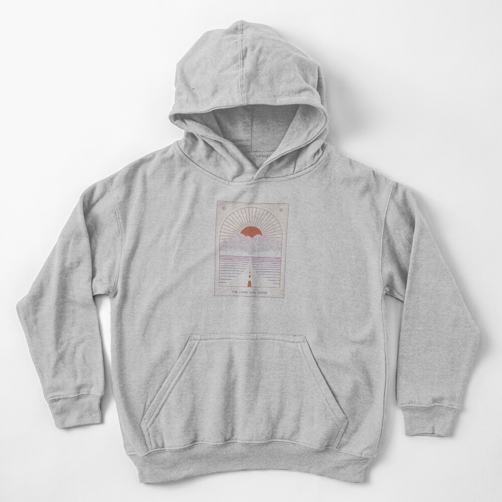 The Long Way Home Kids Pullover Hoodie