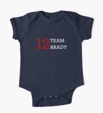 12 Team Brady One Piece - Short Sleeve