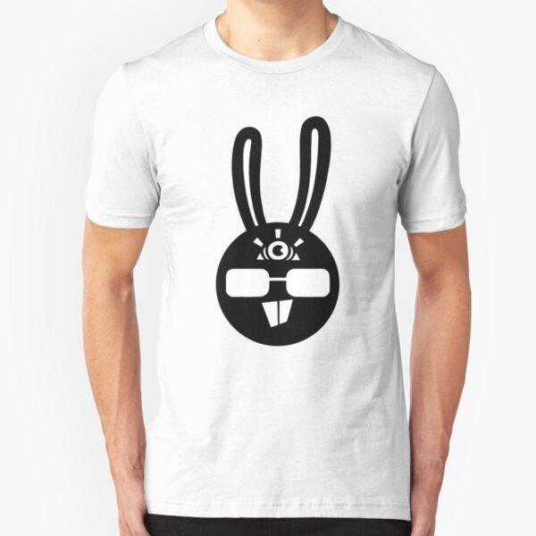 Rabbit Rabbit Art Slim Fit T-Shirt