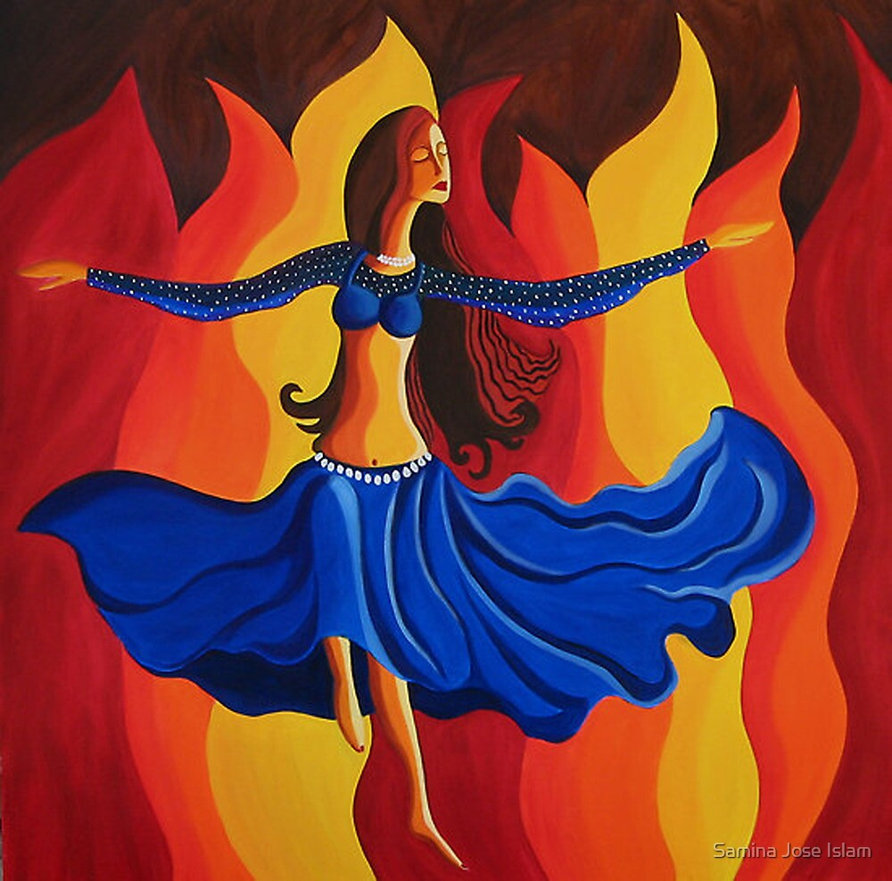 Dance of passion by Samina Jose Islam