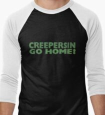 Creepersin Go Home Logo Men's Baseball ¾ T-Shirt