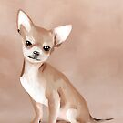 Chihuahua in Oil Paint by ragtagart