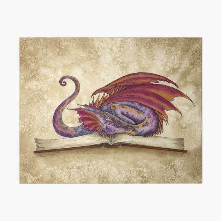 Bookwyrm Art Board Print