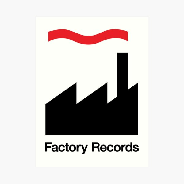 Factory Records Logo Art Print