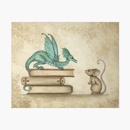 A Curious Encounter Art Board Print