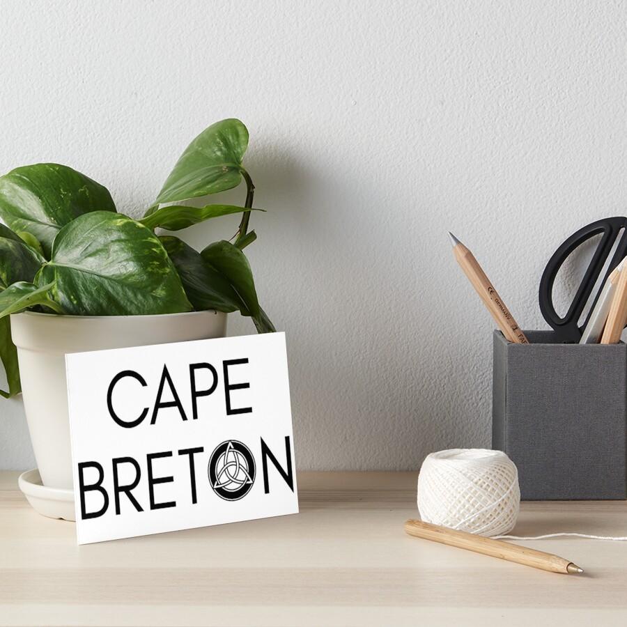 Kap-Bretonischer Keltischer Knoten Galeriedruck