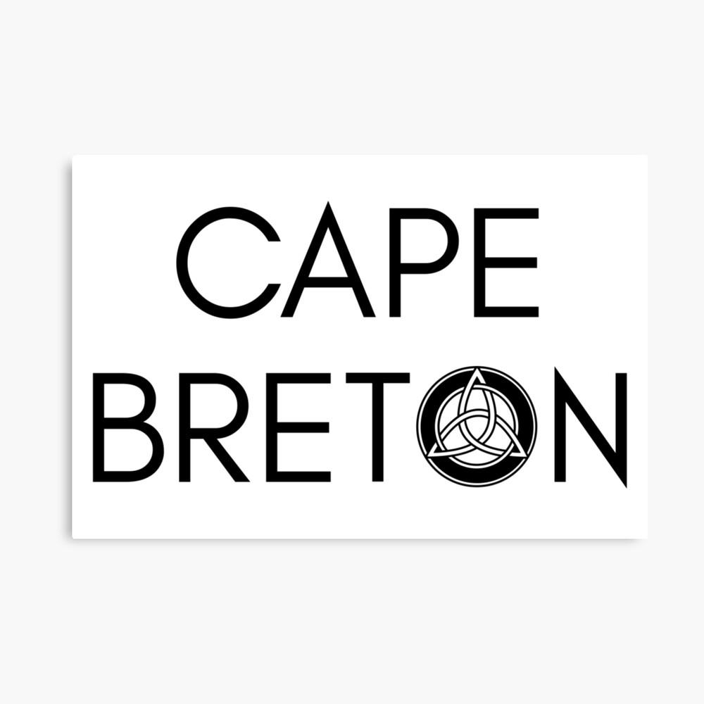 Kap-Bretonischer Keltischer Knoten Leinwanddruck