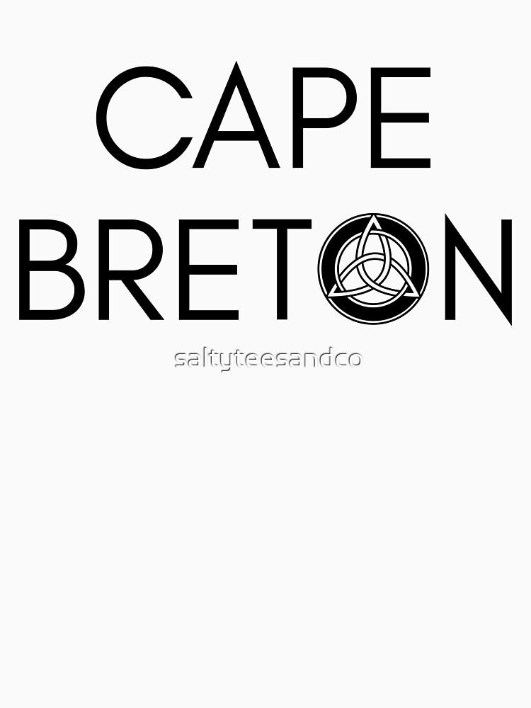 Kap-Bretonischer Keltischer Knoten von saltyteesandco