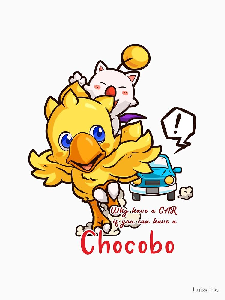 Bye Car, Hi Chocobo by teapotsandhats