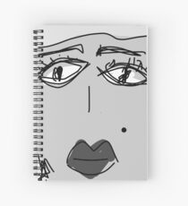 Lady Grey Spiral Notebook