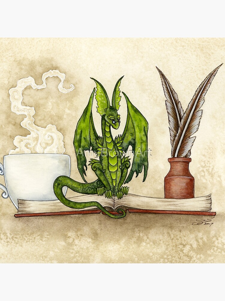 The Scholar by AmyBrownArt