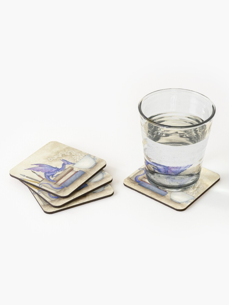 Alternate view of What's In Here? Coasters (Set of 4)